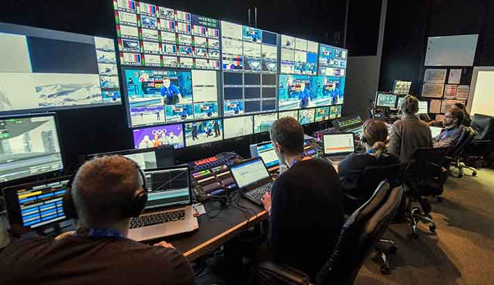 Photo of NEP supports Discovery's coverage of 2018 Winter Games across Europe
