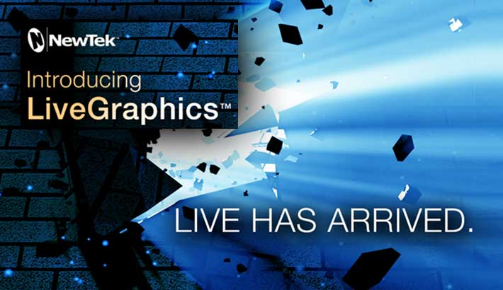 Photo of NewTek brings new approach to real-time motion graphics creation