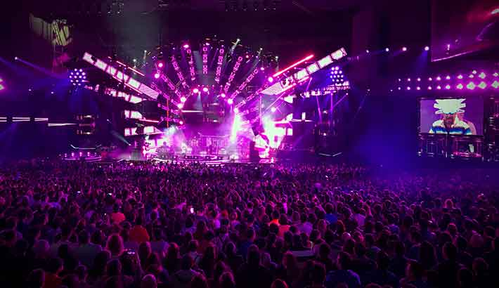 Riedel provides comms infrastructure to Chile's annual song festival