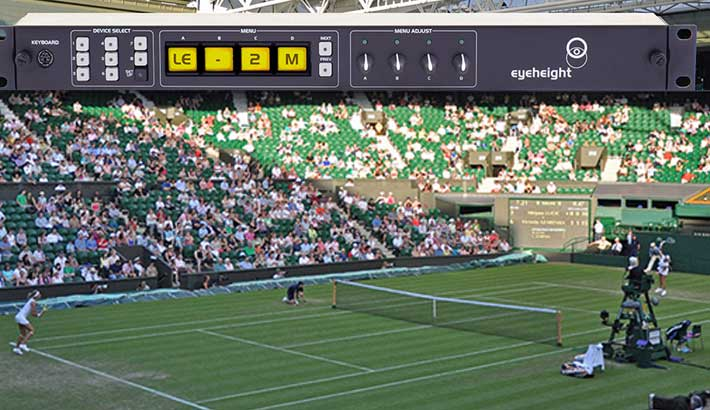 Photo of Eyeheight's legaliser picked for 2018 Wimbledon Tennis Championships