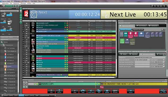 IP goes live in action with Pebble Beach Systems