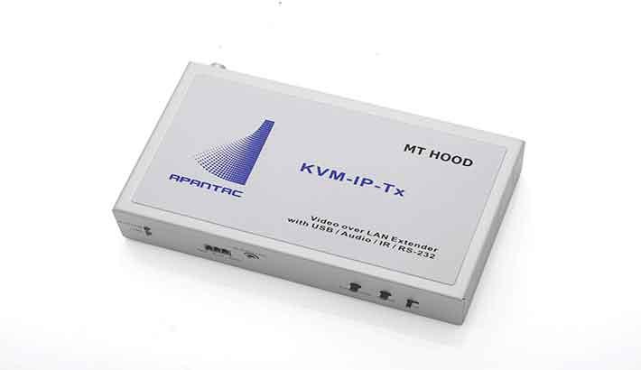 Apantac highlights KVM-over-IP solutions at IBC2018