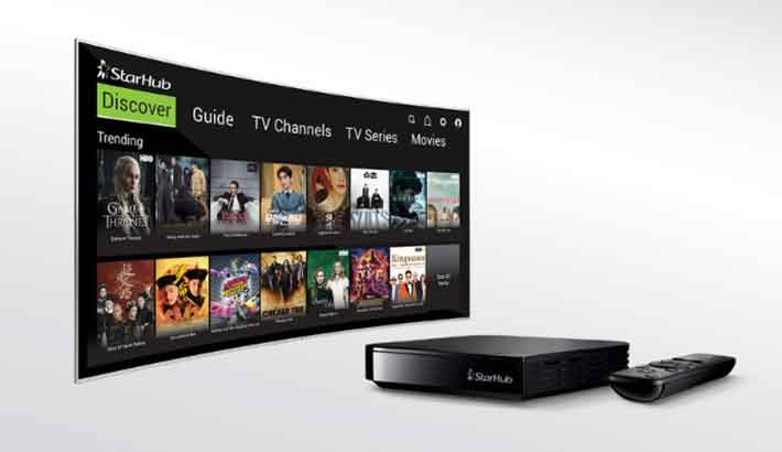 Accedo powers StarHub's new Android TV service