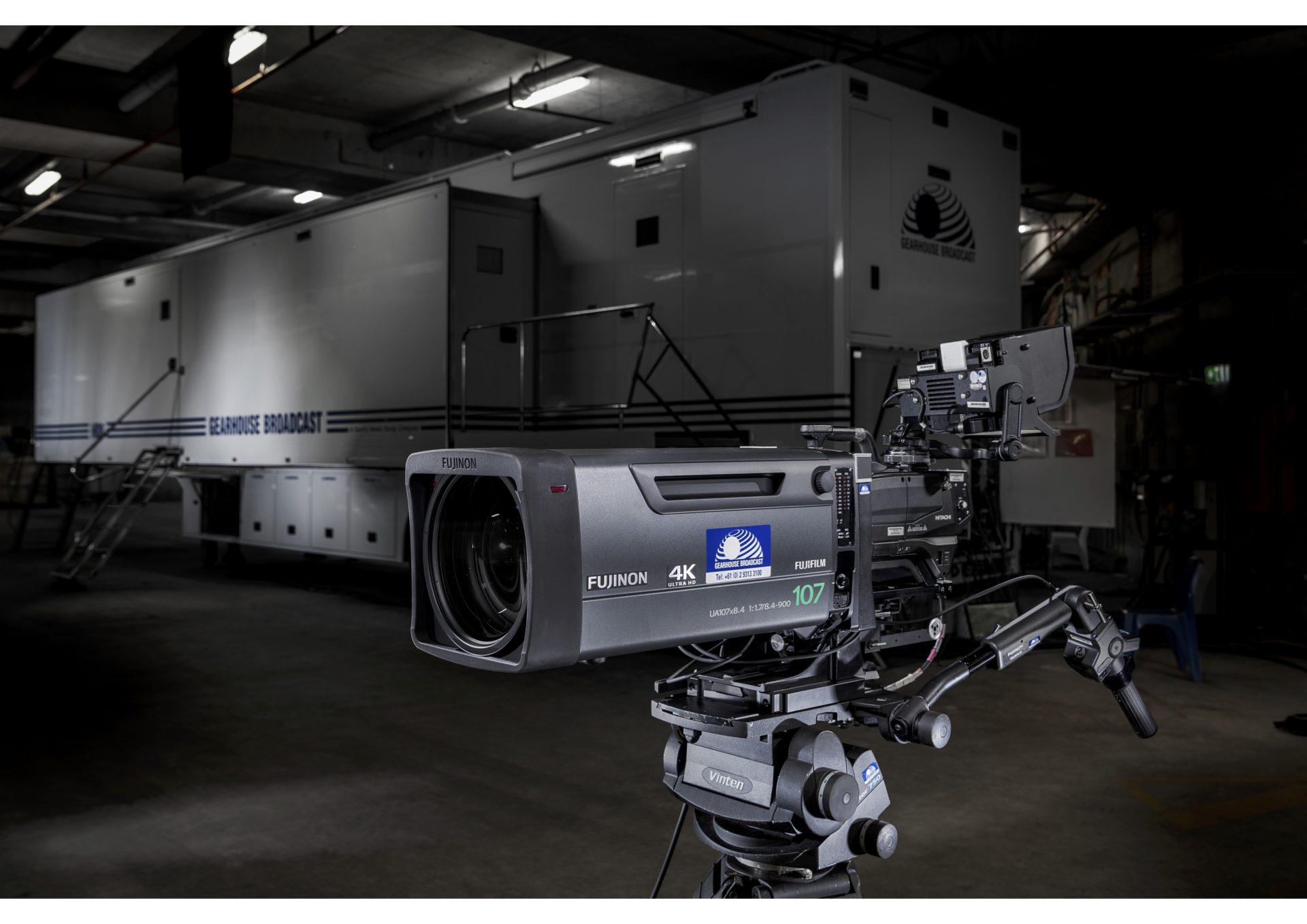 Gearhouse Broadcast acquires new 4K/UHD Fujinon lenses