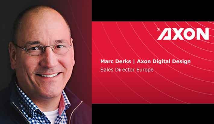 Axon Digital Design appoints Marc Derks as sales director, Europe