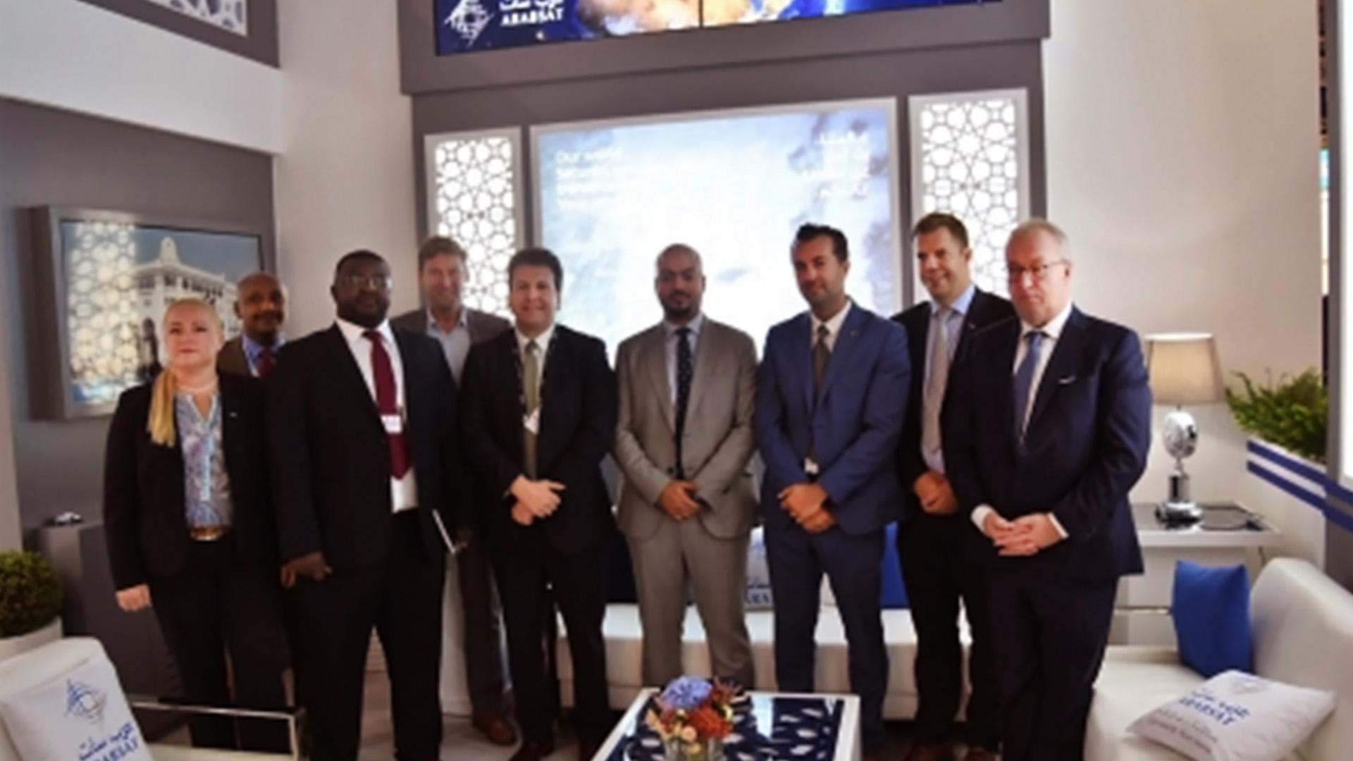 Newtec and Arabsat sign multi-million-euro agreement