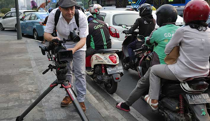 Getting the shot: A game-changing tripod becomes an essential newsgathering tool for AsiaWorks