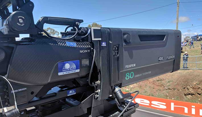 Fujinon captures every turn in Bathurst 1000 in 4K/Ultra HD