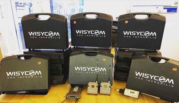 Soundfish uses Wisycom as production backbone