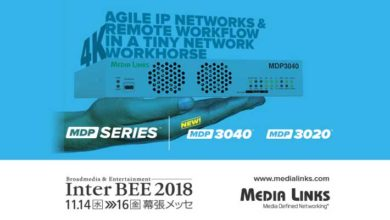 Photo of Media Links exhibits solutions supporting IP 4K/UHD content delivery