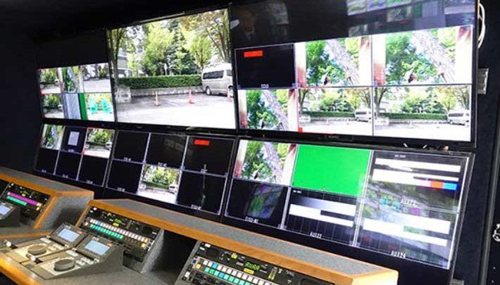 NHK's subsidiaries install XT-VIA servers in new 4K/UHD OB truck