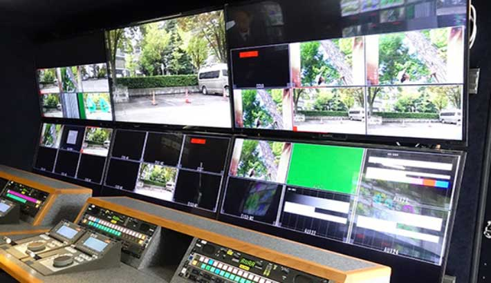Photo of NHK's subsidiaries install XT-VIA servers in new 4K/UHD OB truck