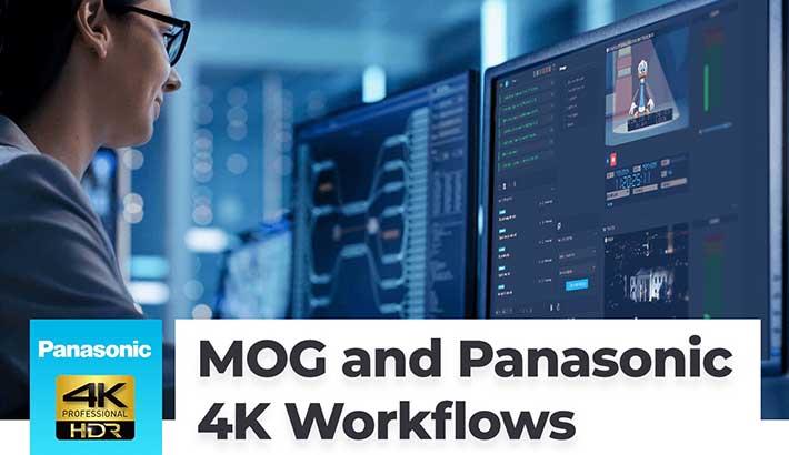 MOG Technologies joins Panasonic's 4K/UHD initiative
