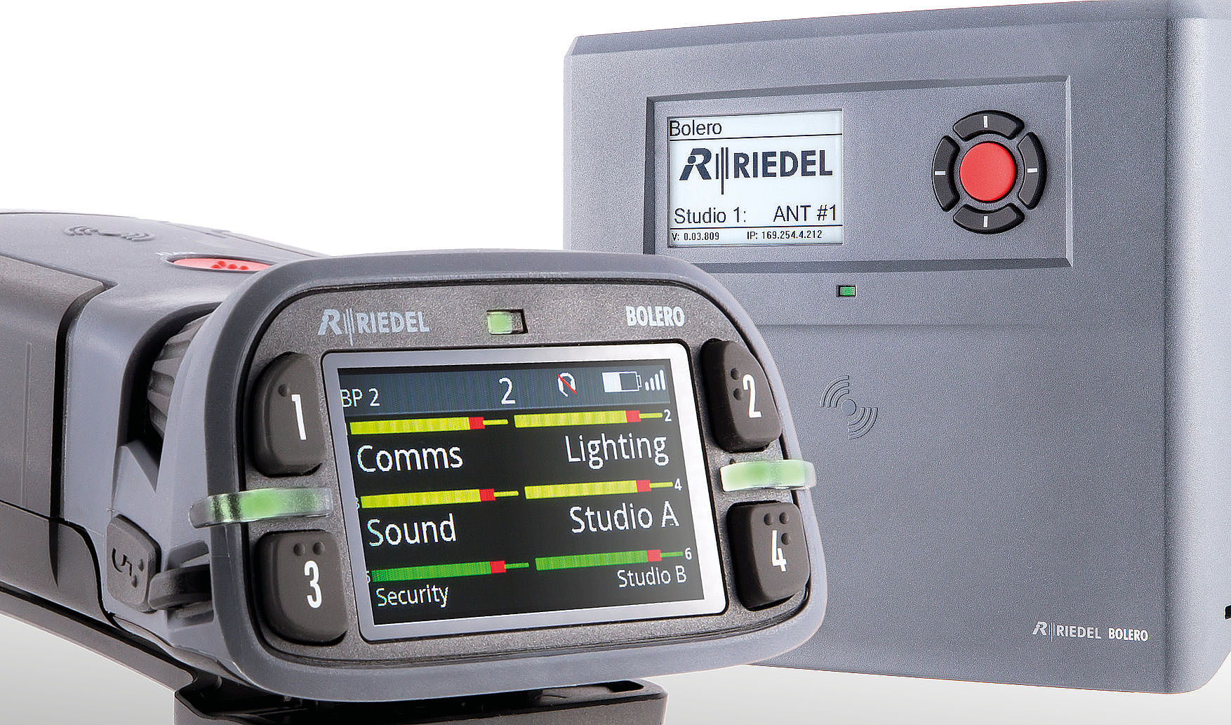 Bexel adds Riedel's Bolero and Artist to rental inventory