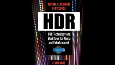Photo of SMPTE expands Virtual Classroom with new HDR course