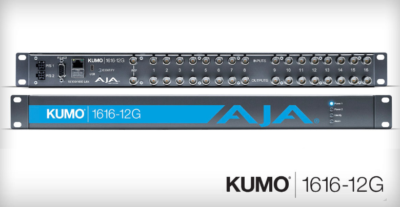 Photo of AJA releases KUMO 1616-12G router