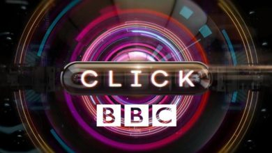 Photo of Click for BBC technology programme on Kompass TV