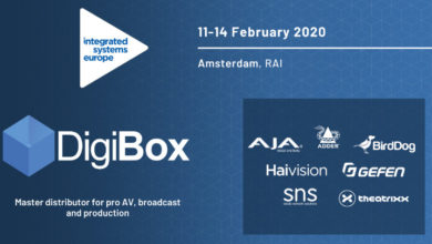 Photo of Digibox brings host of AV partners to ISE 2020 platform