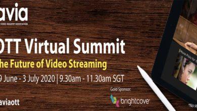 Photo of AVIA's OTT Virtual Summit garners 700+ delegates