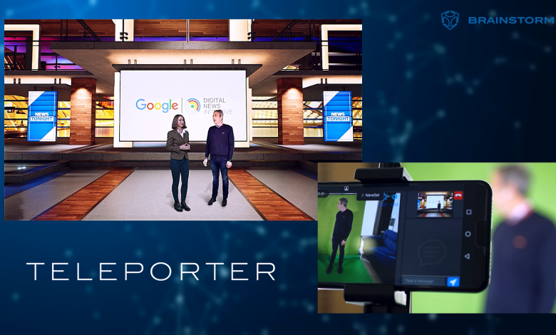 Brainstorm teleport and google initiatives