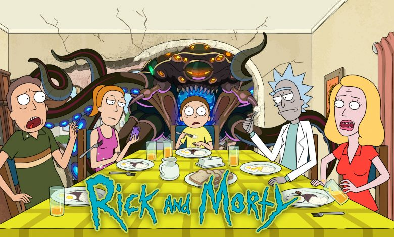 A screenshot of Rick and Morty show