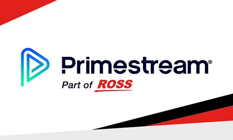 Ross Video and Primestream logo