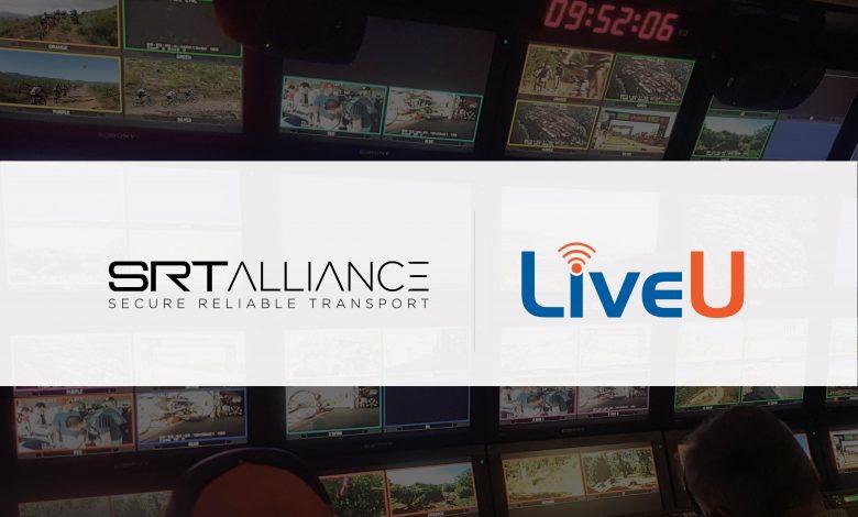 Composite image of SRT Alliance and LiveU logos