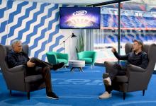 Photo of A fantastic virtual studio interview using Quicklink Studio ST55