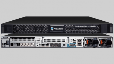 Photo of NewTek incorporates 12G-SDI  to IP production networks