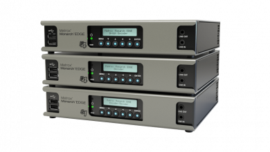 Photo of TSP selects Matrox Monarch EDGE for remote production