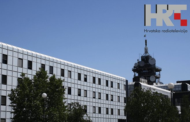 Croatian public broadcaster Hrvatska radiotelevizija (HRT)